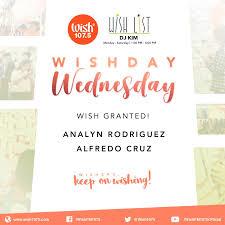 www wish list wish day wednesday wish list winners march 21 2018 wish fm