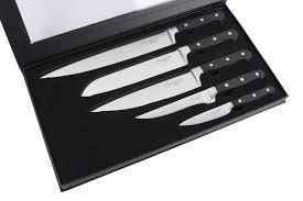 couteau cuisine laguiole coffret 5 couteaux de cuisine forgés en acier inoxydable laguiole