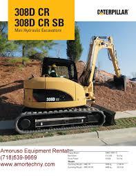 cat 308 dcrsb hydraulic excavator