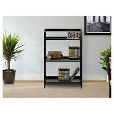 Iron Folding Bookcase Stratford 3 Shelf Folding Bookcase Target