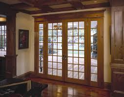 Wood Patio Door Patio Framed Picture Hanged On Wall Beside Wooden Patio Door With