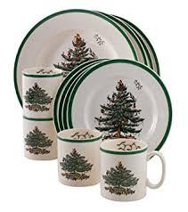 spode tree 12 dinnerware set service