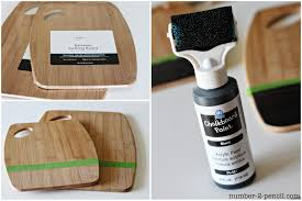 Kitchen Utensil Holder Ideas Diy Painted Wood Spoons And Chalkboard Kitchen Accessories No 2