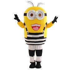 minion costume new costumes mascot minion with tattoo minions mascot