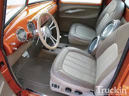 Classic Ford Truck Seats - 1950 chevy pickup classic fantasy u002750 truckin u0027 magazine