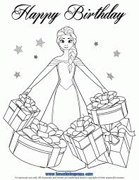 beautiful elsa gifts coloring fun princess