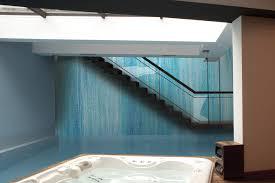 Waterfall Glass Tile Blue Water Tile Pattern Waterlow Lake By Artaic
