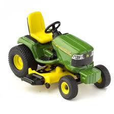 miniature deere lawn tractor garden miniatures