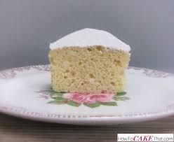 vanilla wasc cake how to cake that