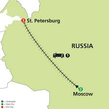 Petersburg Alaska Map by Cosmos Tours Moscow U0026 St Petersburg 2016