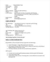 resume format for freshers electronics and communication engineers pdf free download electronics resume template 8 free word pdf document downloads