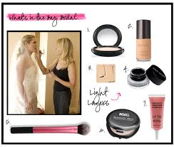 Bridal Makeup Bags In The Bag Bridal Makeup Behind The Look