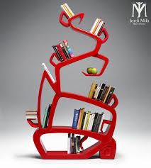 Unique Bookshelf Jordi Mila U0027s Unique Bookshelf