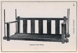 Craftsman Furniture Plans Mission Style Porch Swing Plans Build Me Pinterest Porch