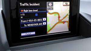 lexus canada navigation update lexus navigation real time traffic incidents youtube