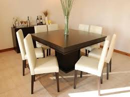Square Dining Table And Chairs Home Design Clubmona Luxury 8 Chair Square Dining Table With