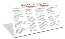 christmas carols and songs