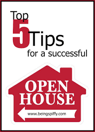 top 5 tips for a successful open house u2014 being spiffy
