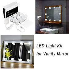 makeup vanity with led lights 60 leds lighted makeup vanity led mirror kit greenclick diy light
