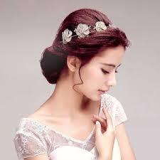 bijoux tete mariage dentelle a la mariée coiffure fleur tete accessoires de