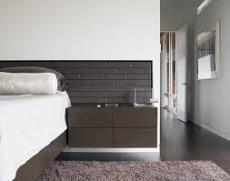 Headboard Nightstand Combo 20 Chic Modern Nightstands For A Contemporary Bedroom