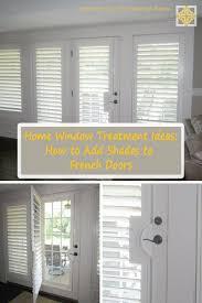 window treatment for french door door decoration