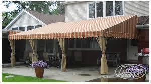 Fabric Awnings Raised Roof Fabric Awnings Kohler Awning