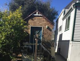 where u0027s bill visiting tiny houses for the homeless in san bruno
