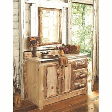 Aspen Bathroom Furniture Log Bathroom Furniture Collection