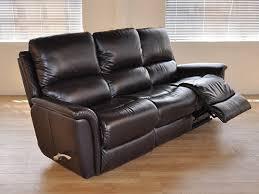 La Z Boy Maverick Mahogany by La Z Boy Reclining Sofa Leather Centerfieldbar Com