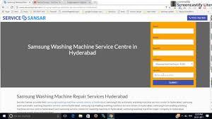samsung washing machine service centre in hyderabad 8860872866