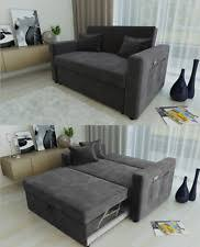 two seater sofa bed ravena 2 seat click clack pull out sofa bed living room lounge grey