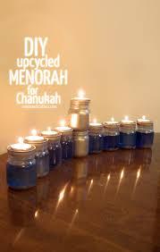upcycled chanukah menorah for hanukkah