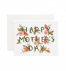 Mother S Day Greeting Card Ideas by Mother U0027s Day Garden Greeting Card Rifle Paper Envelopes And Gift