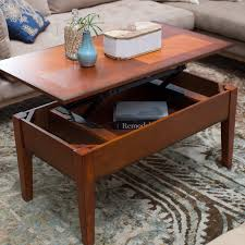 Hidden Compartment Coffee Table by Turner Lift Top Coffee Table Oak Hayneedle