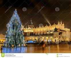 outdoor christmas tree stock photo image 44455980
