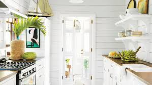 Cottage Kitchens Images - 10 beautiful white beach house kitchens coastal living