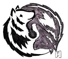 Ying Yang Tattoo Ideas Yin And Yang Wolf Tattoo By Okami365 Deviantart Com On Deviantart
