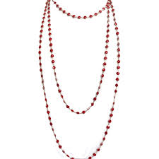 long red necklace images Red pearl necklace allthemust jpg