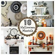 20 Elegant Halloween Decorating Ideas Best 25 Halloween Mantel Ideas On Pinterest Diy Bunting With