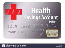 free debit card health savings account debit card stock photo royalty free image