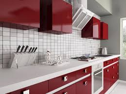Red Kitchen Cabinets Red Kitchen Design Ideas Red Kitchen Cabinets