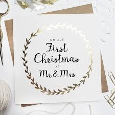 celebrating your first married christmas hitched co uk