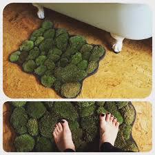 Bath Shower Mat Diy Moss Floor Mat Floor Decoration