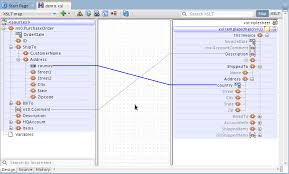 12c xslt editor u2013 map view overview oracle integration blog