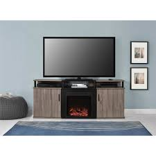 fireplace tv stand console electric heater entertainment center 70