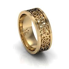 celtic mens wedding bands gold braided celtic mens wedding band gorgeous you won t be