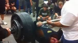 How Much Can John Cena Bench Press The Moment High Football Player Bench Pressed 700 Pounds