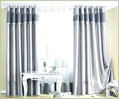 Heavy Grey Curtains Grey And White Blackout Curtains Vrboska Hotel