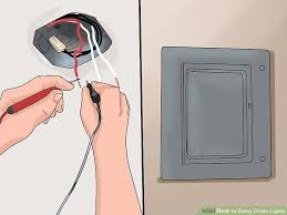 how to daisy chain lights with pictures wikihow
